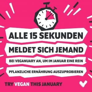 Veganuary Januar vegan V-Partei