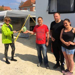 Zirkus Spende V-Partei