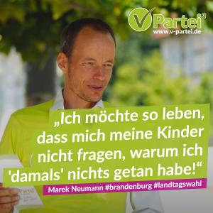 Landtagswahl Brandenburg Marek Neumann Spitzenkandidat