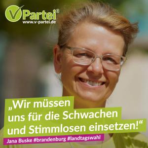 Landtagswahl Brandenburg Jana Buske