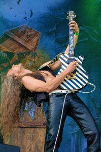 Gitarrist Axel Ritt