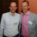 Stellv. Bundesvorsitzender Henrik Lange (re.) mit Zwillingsbruder