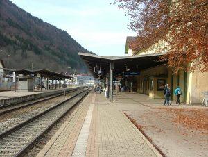 Bild Bahnhof Immenstadt