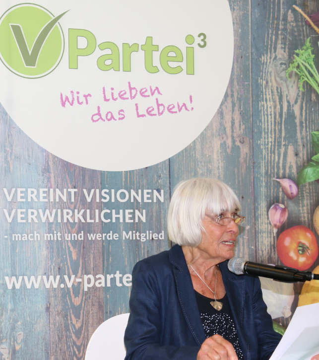 Älteste Kandidatin für die Bundestagswahl 2017: Barbara Rütting