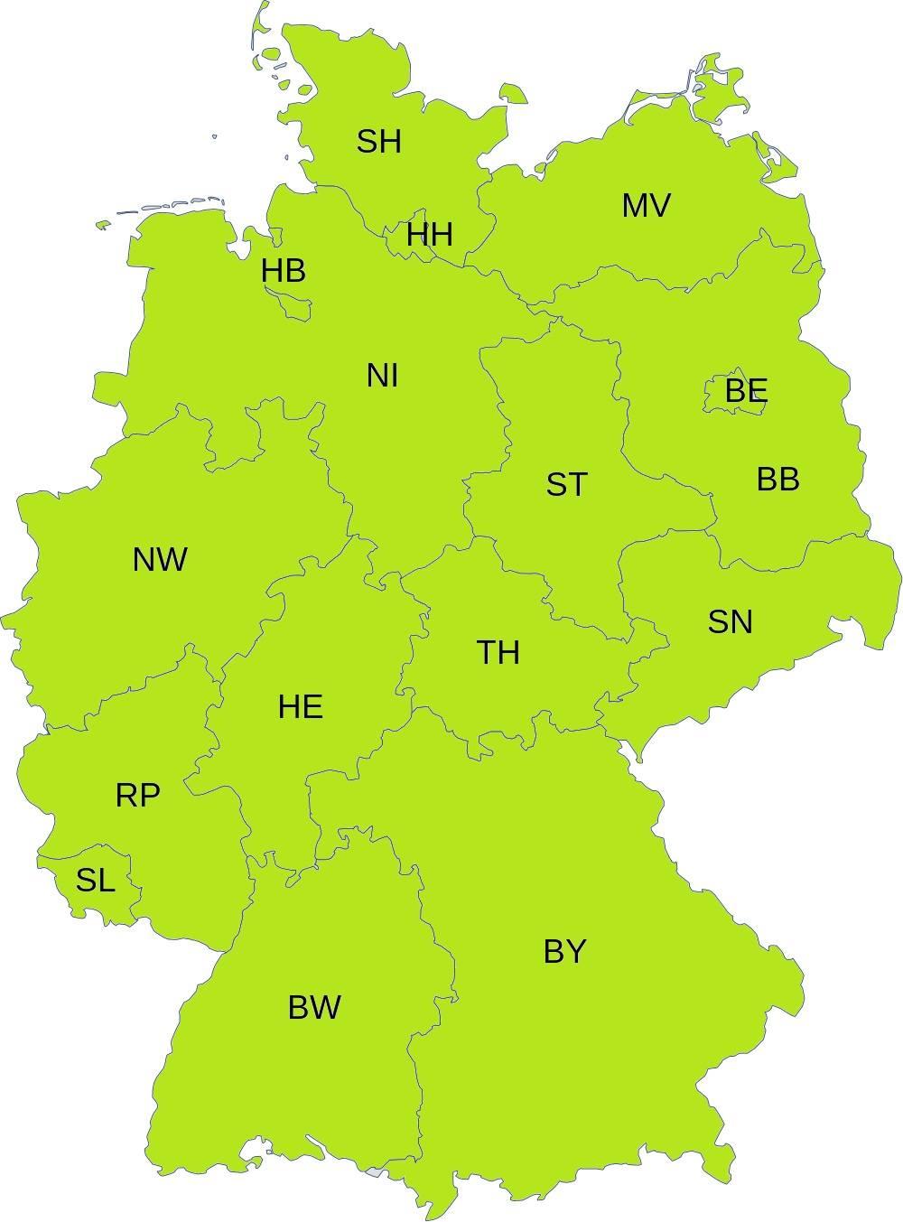 Um in allen 16 Bundesländern auf dem Stimmzettel stehen zu können, werden noch Unterstützungsunterschriften benötigt.