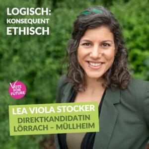 Portrait Lea Viola Stocker V-Partei³ Lörrach-Müllheim