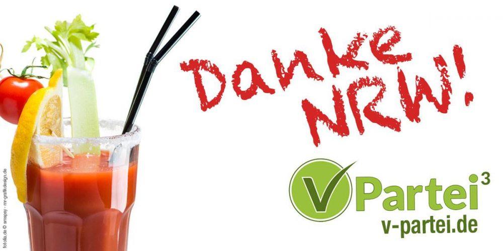Nach der Wahl ist vor der Wahl: V-Partei³ über die NRW-Wahl, positive Lerneffekte, Sportlerdenken und den Wahl-O-Mat