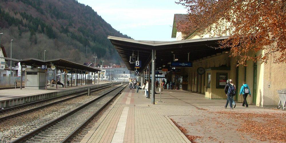 Übergangslösung für einen barrierefreien Bahnhof in Immenstadt