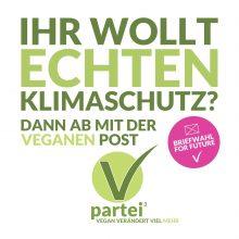 Mit Deiner #Briefwahl geht die vegane Post ab!