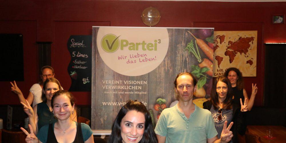 V-Partei³ gründet Stadtverband in Augsburg