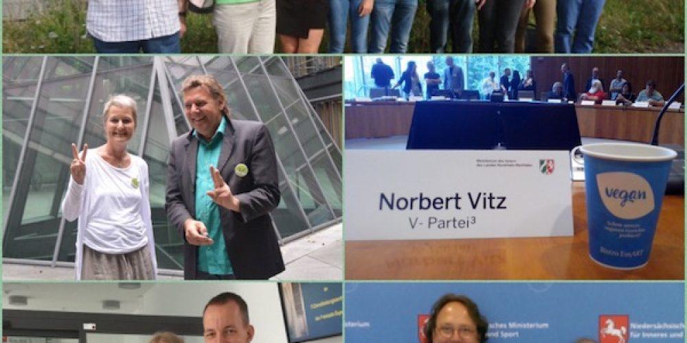 V-eiertag: Zulassung der V-Partei³ zur Bundestagswahl in 12 Bundesländern erfolgt
