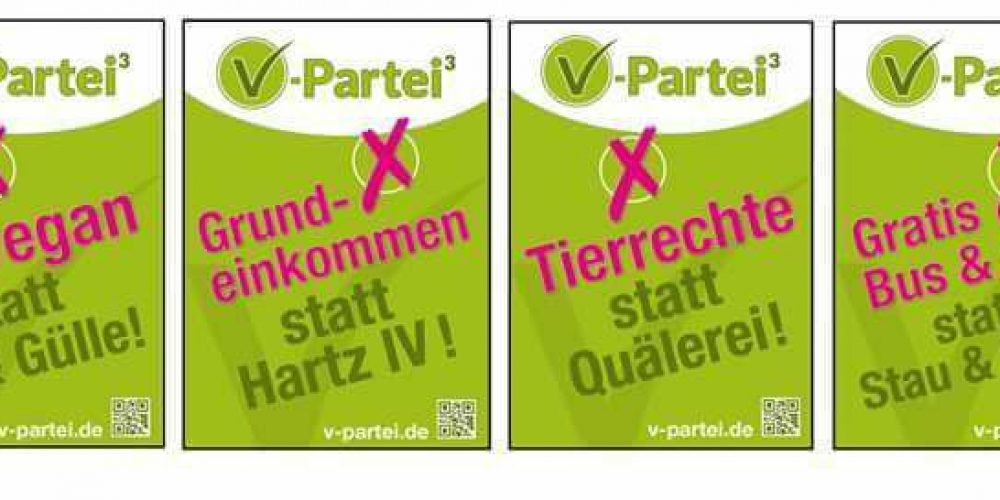 So sehen unsere Wahlplakate in NRW aus