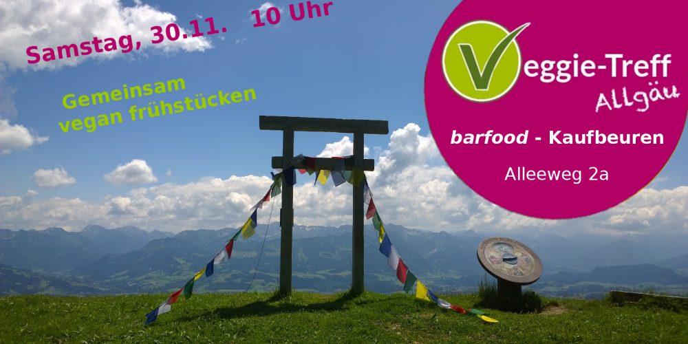 Veggie-Treff Allgäu am 30.11.