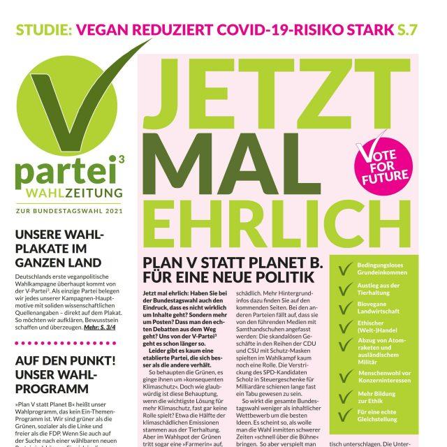 Unsere Wahlzeitung zur Bundestagswahl 2021