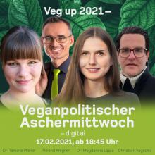 Veganpolitischer Aschermittwoch LIVE