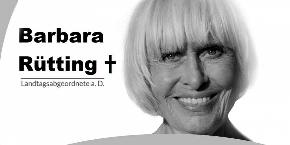Wir trauern um Barbara Rütting