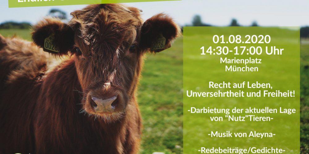 Einladung zur Tierrechts-Demo München