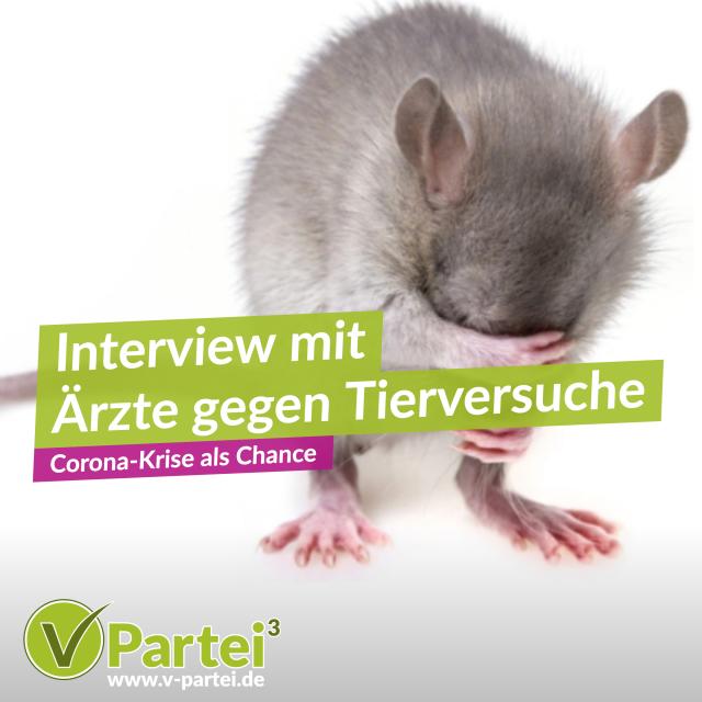 Interview Ärzte gegen Tierversuche