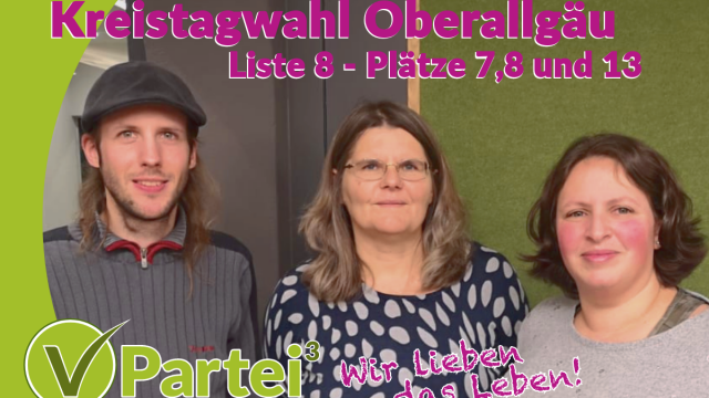 DANKE – Kreistagswahl Oberallgäu