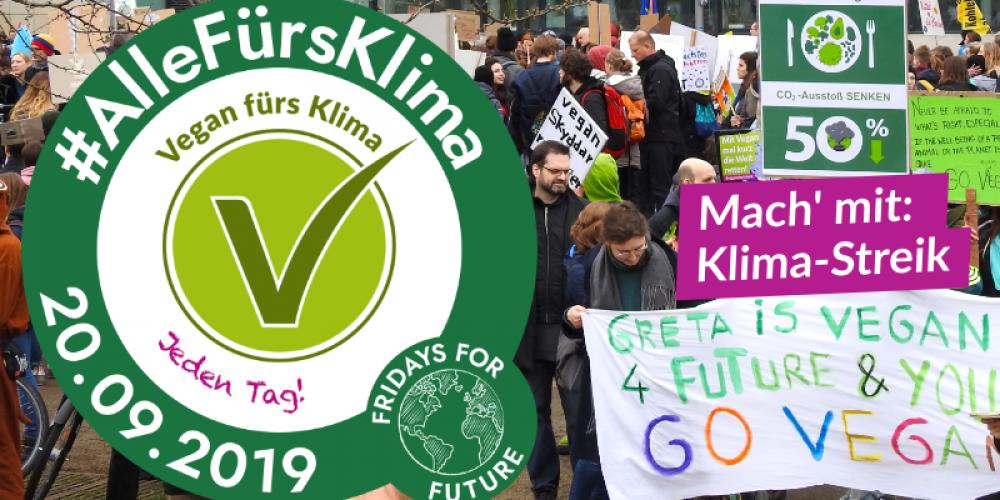 Die V-Partei³ ruft zum weltweiten Klimastreik auf, um die Fridays for Future Demonstration tatkräftig zu unterstützen.