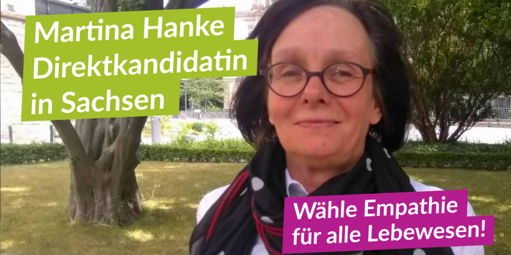 Direktkandidatin Martina Hanke