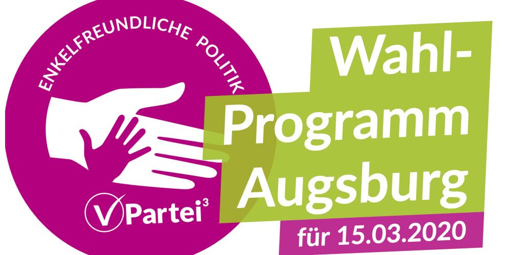 Kommunalwahlprogramm Augsburg 2020