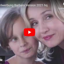 Unser Wahlwerbespot mit Barbara Rütting in der Version fürs ZDF 2021