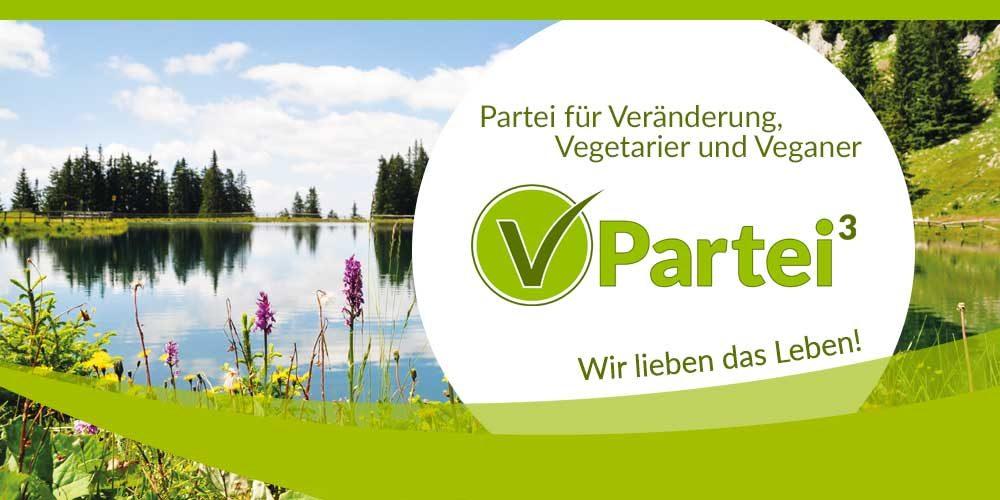V-Partei³ Landesverband Schleswig-Holstein wird gegründet