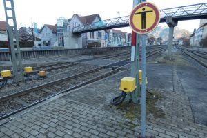 Bild Ebenerdiger Bahnübergang