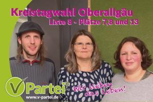 Unsere Kandidierenden zur Kreistagswahl Oberallgäu