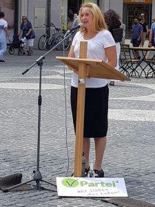 Landespressesprecherin Kristin Burger