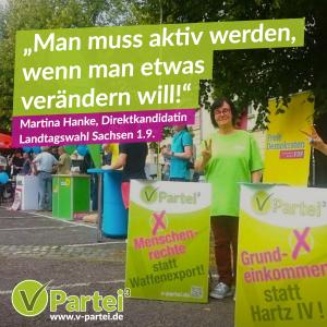 Martina Hanke Landtagswahl Sachsen