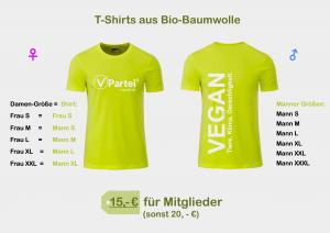 T-Shirts V-Partei vegan